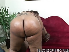It takes a massive ebony cock to cut throughout all dat phat ass