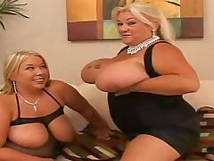 If you are a big tit fan, this is the movie for you. Blonde babes Laura and Linda have uber-sexy big and bouncy titties and are greater quantity than happy to squirt them all over with oil and rub them up and down.