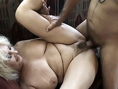 He's got sufficiently cock to take care of both these fat nasty bitches