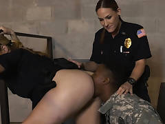 Fake ARMY stud with a real big dick