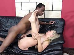 lush moms first interracial lovemaking