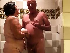 Toying in the shower