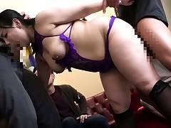 Rio Hamasaki slurps japanese model displays off her big hooters