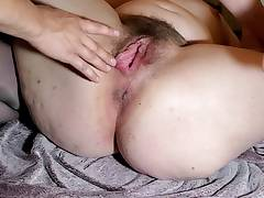 Fingering Her Sadism Pussy until She Squirts all over Him