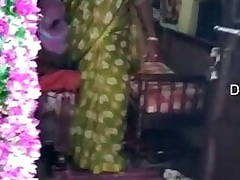 Desi Mature Tamil Aunty Hard-core Fucked By Gifted Part 1