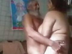 Old man fucking youthful wife