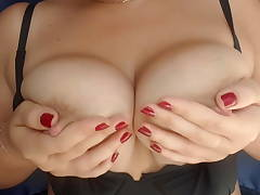 natural soft breasts that you want to eat