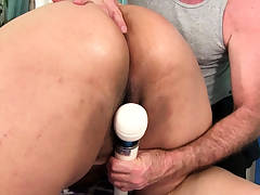 Asian BBW Miss LingLing Rubdown and Playthings