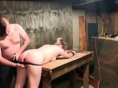 hard anal machine nailing