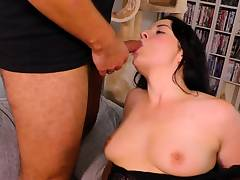 BBW stunner Emma Secret works two peckers for fresh sperm