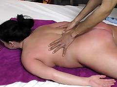 Scorching brown-haired amateur Mummy rides hubbys cock