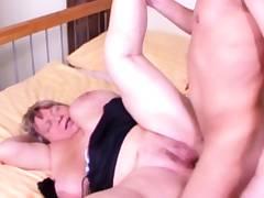 GERMAN Plumper GRANDMA SEDUCE TO FUCK BY YOUNG Dude VINTAGE Pornography