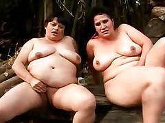 Two fatty gf boating