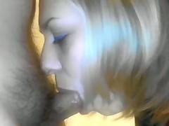Perfect Italian Blowjob From Ash-blonde BBW