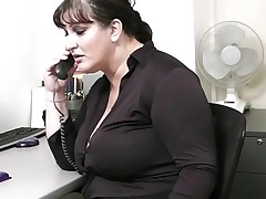 Smut co worker stretches Heavy