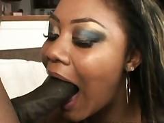 Vanity Cruz - Black Creampie For Black Expert