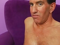 Chunky scarlet curls shafts close by huge bust And big anal  action two