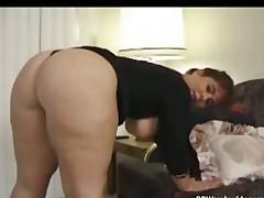 Naughty BBW got a huge booty