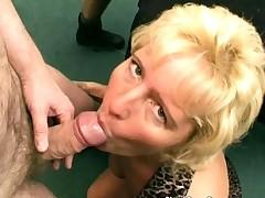 Hot horny big boobed MILF slut have