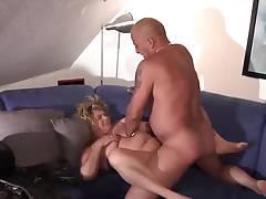 BBW blonde with big boobs